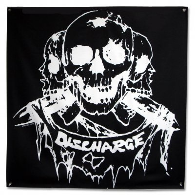 "discharge - Born To Die Flag (48"" x 48"")"