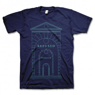 Refused - Arch T-Shirt (Navy) - Men's