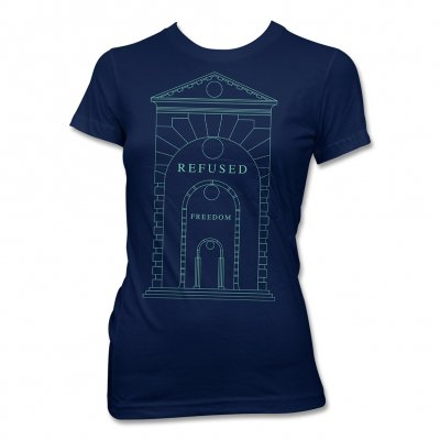 Refused - Arch Women's T-Shirt (Navy)