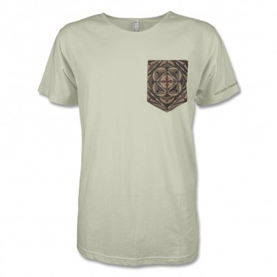 Refused - Mandala Pocket T-Shirt (Natural)