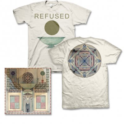 Refused - Freedom CD & Chalice Mens Tee (Natural) Bundle