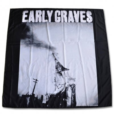"early-graves - Church Burner Flag (48"" x 48"")"