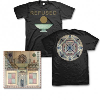 Refused - Freedom CD & Chalice Mens or Womens Tee (Black) Bundle