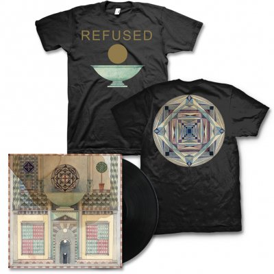 Refused - Freedom LP (Black) & Chalice Mens or Womens Tee (Black) - Bundle