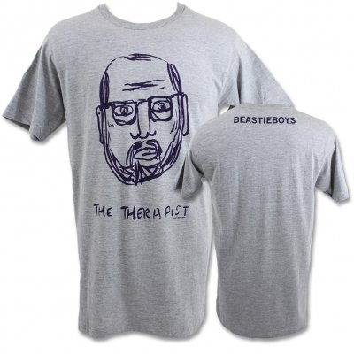 beastie-boys - The Therapist Tee (Gray)