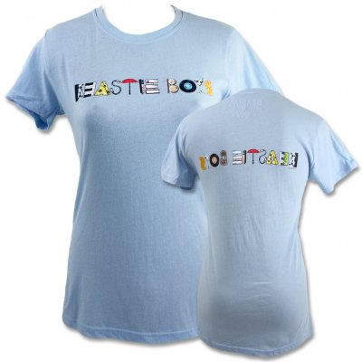beastie-boys - The Mix Up Womens Tee (Sky Blue)