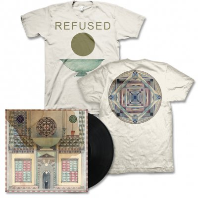 Refused - Freedom LP (Black) & Chalice Tee (Natural) Bundle