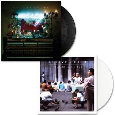 Active Child - Active Child - Mercy LP (Black) &  You Are All I See LP (White)