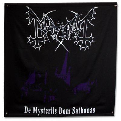 "Mayhem - De Mysteriis Dom Sathanas Flag (48"" x 48"")"