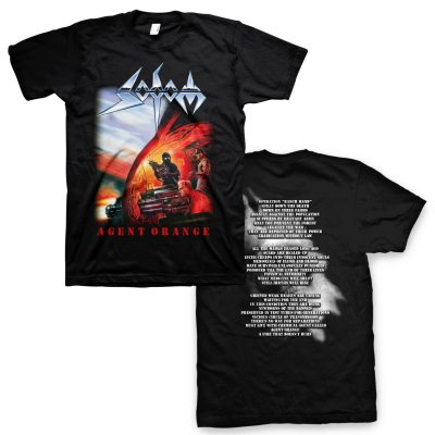 sodom - Agent Orange T-Shirt (Black)