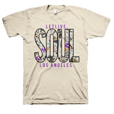 Letlive - Grey Soul T-Shirt (Natural)