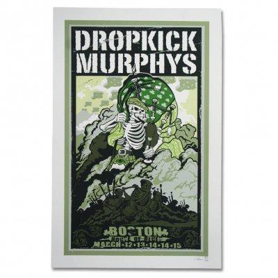 dropkick-murphys - 2015 St. Paddys Day Show Print