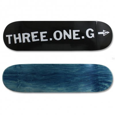 three-one-g - Three One G Logo Skateboard