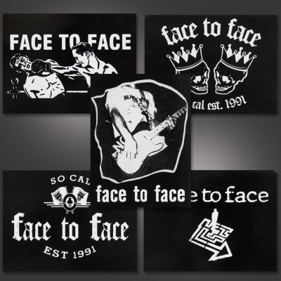 face-to-face - 5 Piece Sticker Pack