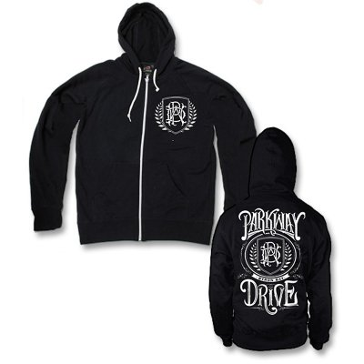 Parkway Drive - Monogram Logo Zip Up