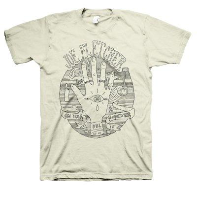 joe-fletcher - Wave Hand T-Shirt (Natural)