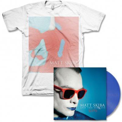 matt-skiba-and-the-sekrets - Kuts LP (Blue Vinyl) & Album Cover Tee