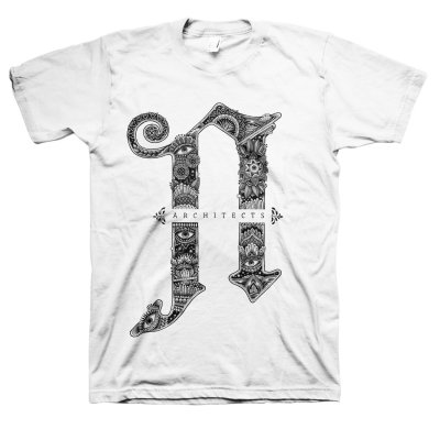 Architects - A Floral T-Shirt (White)