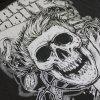 IMAGE | Surfer Skull T-Shirt (Black) - detail 2