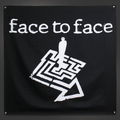"face-to-face - Maze Flag (48"" x 48"")"
