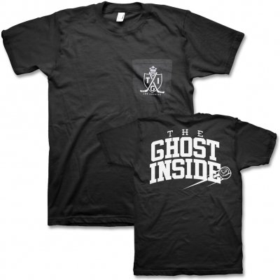 The Ghost Inside - Hockey Pocket Tee (Black)