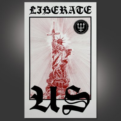watain - Liberate Us Screen Printed Poster