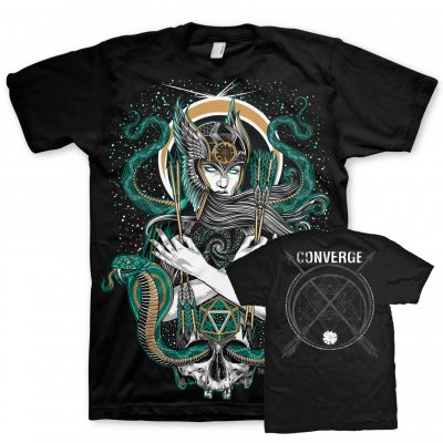 Converge - Palehorse Sorcery Tour T-Shirt (Black)