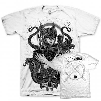 Converge - Palehorse Sorcery Tour T-Shirt (White)