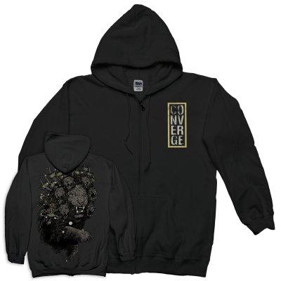 IMAGE | Lion Zip Up Sweatshirt (Black)