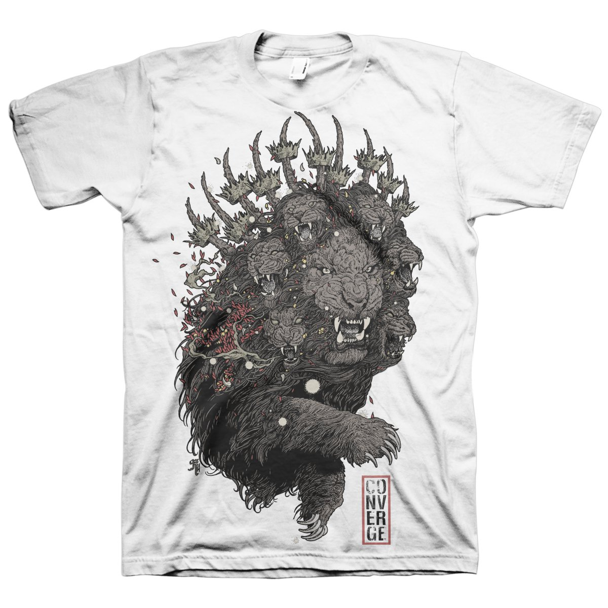 Lion T-Shirt (White)