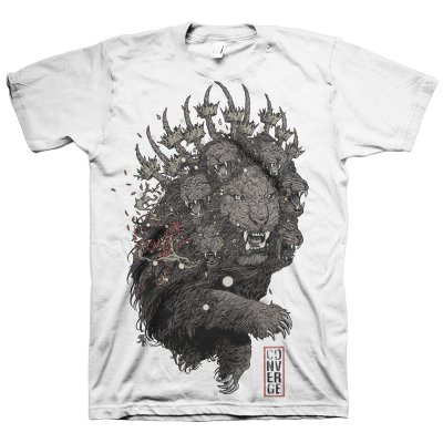 Converge - Lion T-Shirt (White)