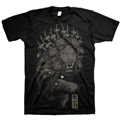 Converge - Lion T-Shirt (Black)