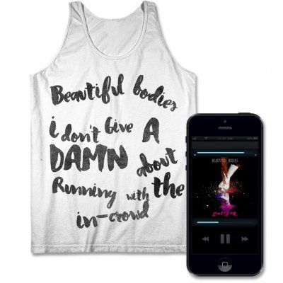 Beautiful Bodies - Battles Digital Download & Men's or Women's Tank Top