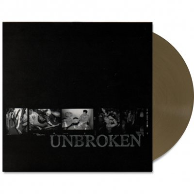 """Unbroken - And b/w Fall On Proverb 7"""" (Gold)"""