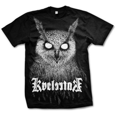 Bartlett Owl Shirt (Black)