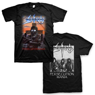 Sodom - Persecution Mania T-Shirt (Black)