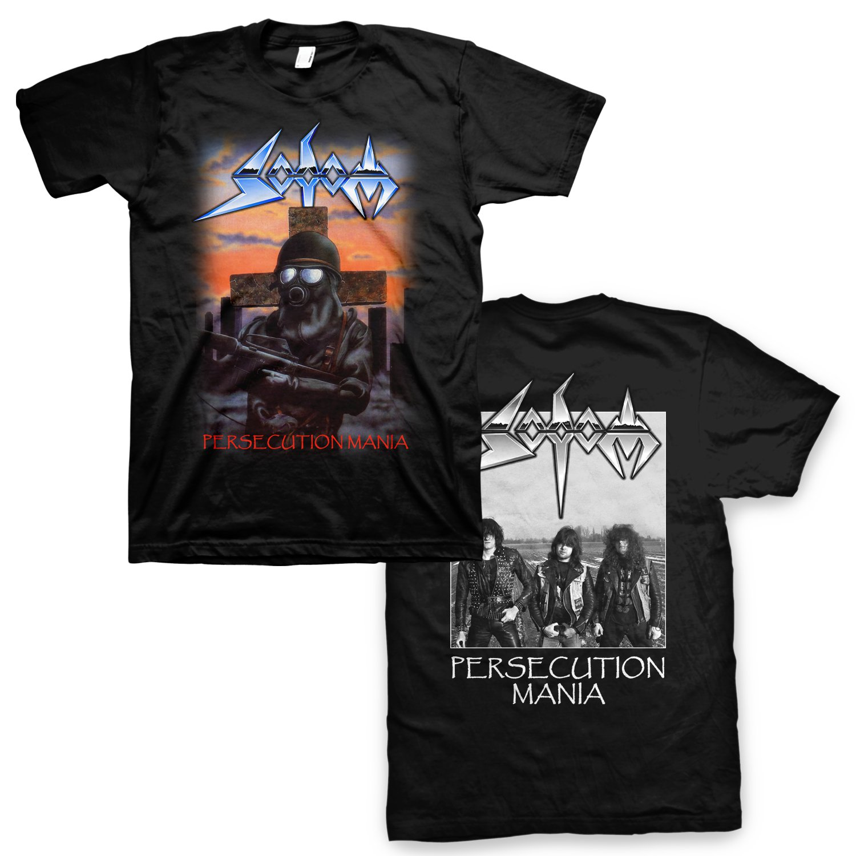 IMAGE | Persecution Mania T-Shirt (Black)