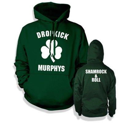 dropkick-murphys - Shamrock & Roll Hoodie (Green)