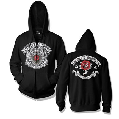 dropkick-murphys - Signed & Sealed Zip Hood