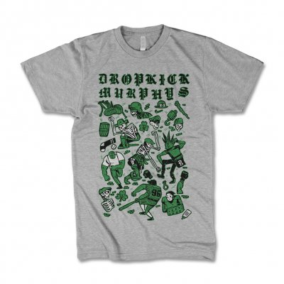 dropkick-murphys - Collage Kids Tee (Heather)