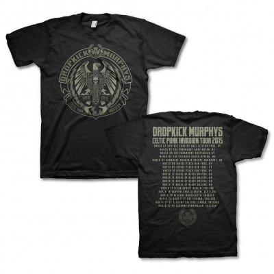 Dropkick Murphys - 2015 Celtic Punk Invasion Tour Tee (Mens)