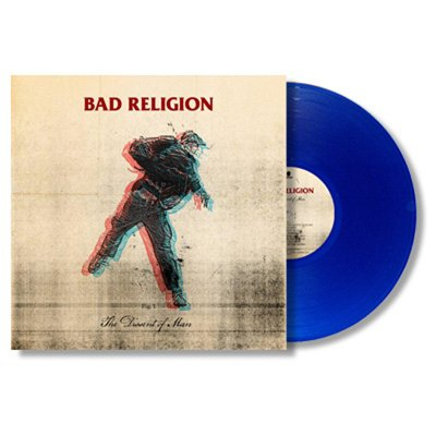 Bad Religion - The Dissent Of Man LP - BLUE (Epitaph Exclusive)