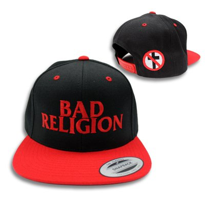 Logo Snapback (Black/Red)