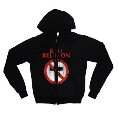 Bad Religion - Classic Distressed Cross Buster AA Zip-up