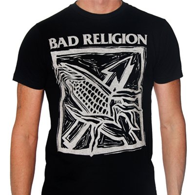 Bad Religion - Against The Grain Tee (Black)