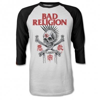 Bad Religion - Tokyo Skull Baseball Tee