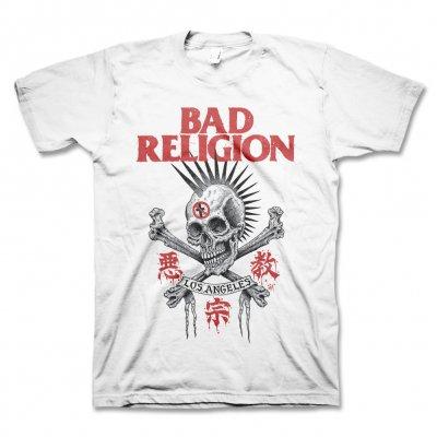 bad-religion - Tokyo Skull Tee (White)