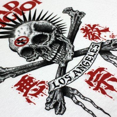 Bad Religion - Tokyo Skull Tee (White)