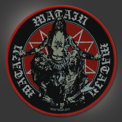 "watain - Outbreak Patch (5"")"