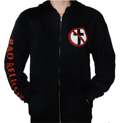 epitaph-records - Crossbuster Zip Up Hoodie (Black)